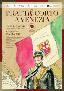 Pratt e Corto a Venezia locandina