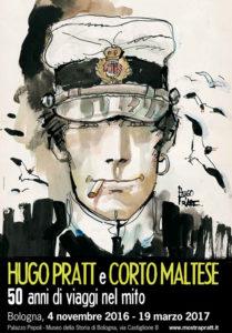 Hugo Pratt e Corto Maltese 50 anni di viaggi nel mito