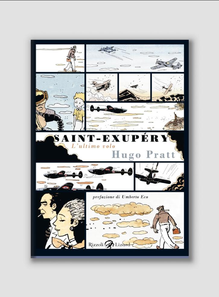 Saint Exupery_Hugo Pratt