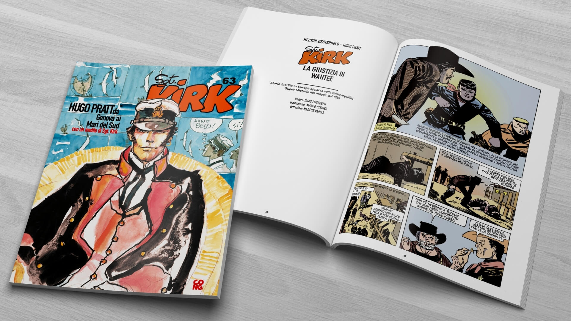 Sgt. Kirk catalogo